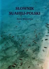 Słownik suahili-polski - okładka książki