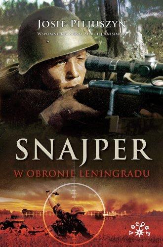 Snajper w obronie Leningradu - okładka książki
