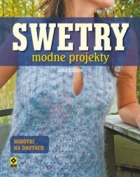 Swetry. Modne projekty na drutach - okładka książki