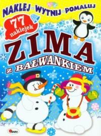Zima z bałwankiem - okładka książki