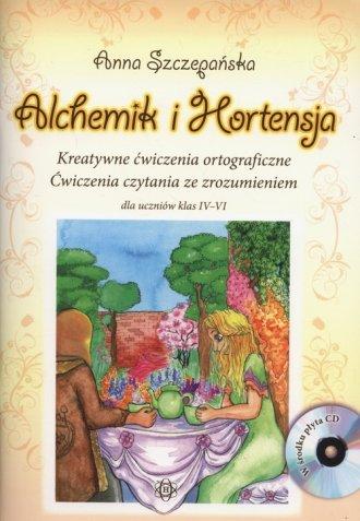 Alchemik i Hortensja (+ CD). Kreatywne - okładka książki