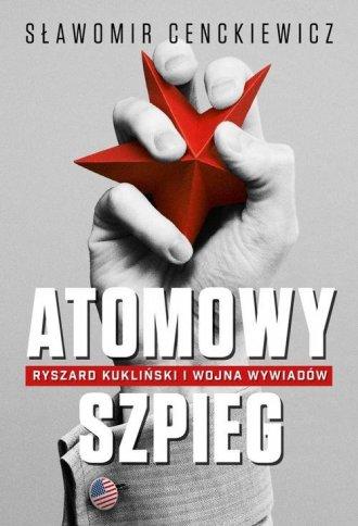 Atomowy szpieg - okładka książki