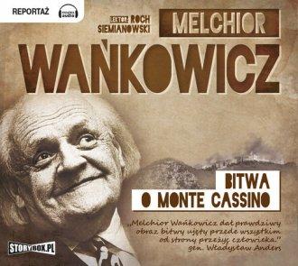 Bitwa o Monte Cassino - pudełko audiobooku