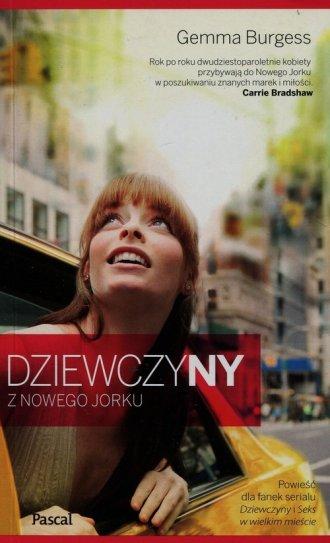 Dziewczyny z Nowego Jorku - okładka książki