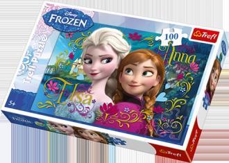Frozen (puzzle 100-elem.) - zdjęcie zabawki, gry