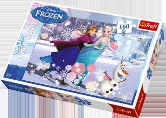 Frozen (puzzle 160-elem.) - zdjęcie zabawki, gry