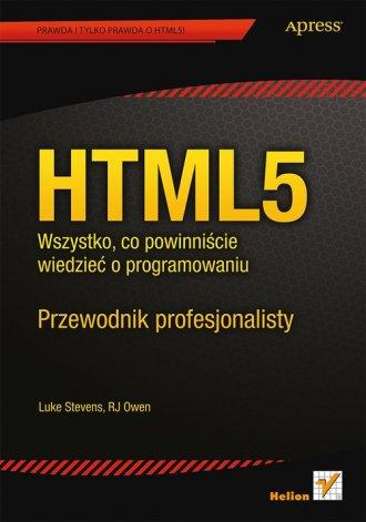 HTML5. Wszystko, co powinniście - okładka książki