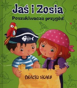 Jaś i Zosia. Poszukiwacze przygód. - okładka książki