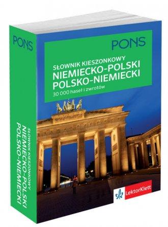Kieszonkowy słownik niemiecko-polski, - okładka podręcznika