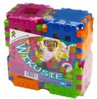 Klocki konstrukcyjne Wikusie (24-elem.) - zdjęcie zabawki, gry