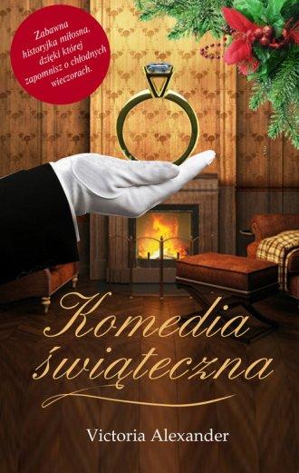 Komedia świąteczna - okładka książki