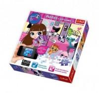 Littlest Pet Shop. Wieczorne zabawy + Aplikacje (puzzle) - zdjęcie zabawki, gry