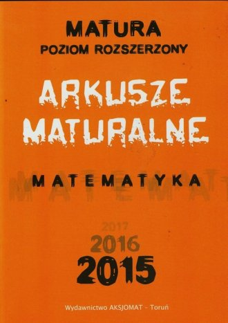 Matura 2015. Matematyka. Arkusze - okładka podręcznika