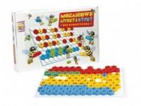 Mozaikowe litery i cyfry - zdjęcie zabawki, gry