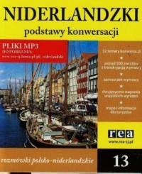Niderlandzki - podstawy konwersacji (13 mp3) - okładka książki