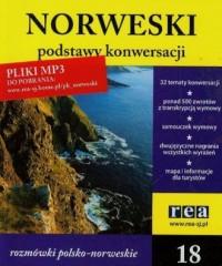 Norweski - podstawy konwersacji (18  mp3) - okładka książki