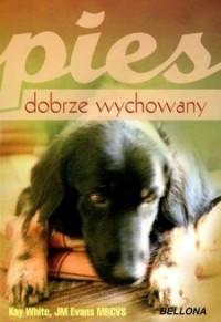 Pies dobrze wychowany - okładka książki