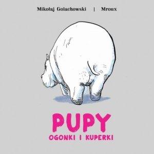 Pupy, ogonki i kuperki - okładka książki