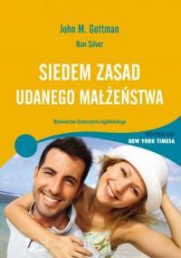 Siedem zasad udanego małżeństwa - okładka książki