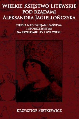 Wielkie księstwo litewskie pod - okładka książki
