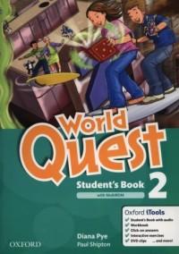 World Quest 2. Students Book (+ MultiROM) - okładka podręcznika