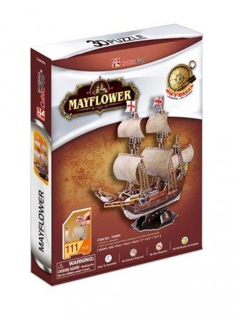 Żaglowiec Mayflower (puzzle 3D) - zdjęcie zabawki, gry