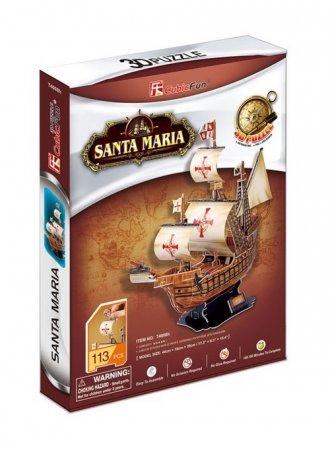 Żaglowiec Santa Maria (puzzle 3D) - zdjęcie zabawki, gry