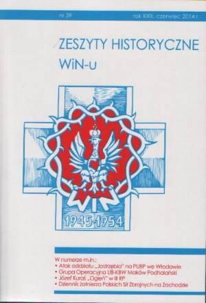 Zeszyty Historyczne Win-u nr 39 - okładka książki