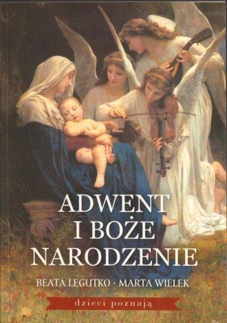 Adwent i Boże Narodzenie - okładka książki