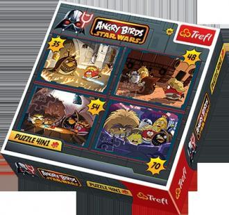 Angry Birds. Star Wars (puzzle - zdjęcie zabawki, gry