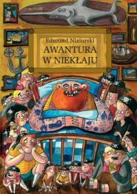 Awantura w Niekłaju - okładka książki