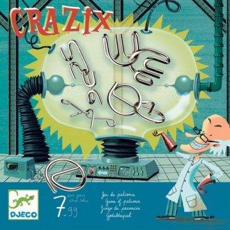 Crazix. Układanka z metalowych - zdjęcie zabawki, gry