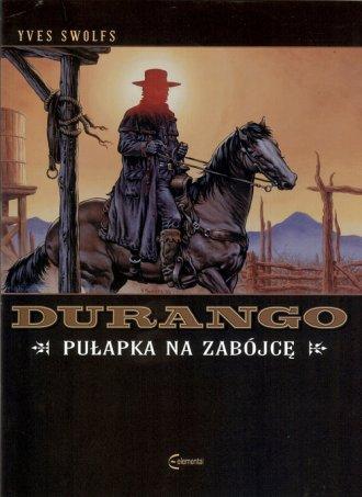 Durango. Pułapka na zabójcę - okładka książki