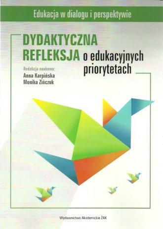 Dydaktyczna refleksja o edukacyjnych - okładka książki