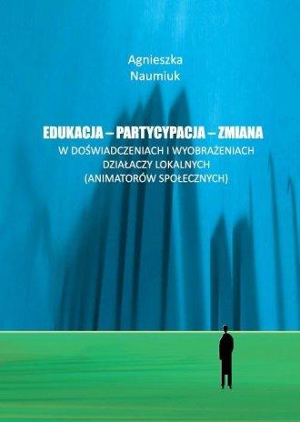 Edukacja - partycypacja - zmiana - okładka książki