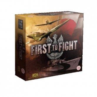 First to Fight. Gra strategiczna - zdjęcie zabawki, gry