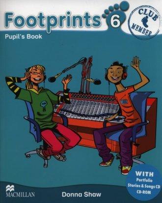 Footprints 6. Podręcznik + Portfolio - okładka podręcznika