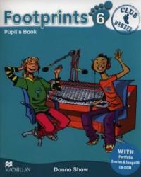 Footprints 6. Podręcznik + Portfolio Booklet (+ 2CD) - okładka podręcznika