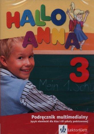 Hallo Anna 3. Podręcznik multimedialny. - pudełko programu