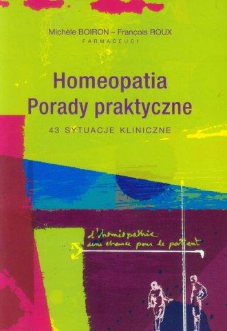 Homeopatia. Porady praktyczne. - okładka książki