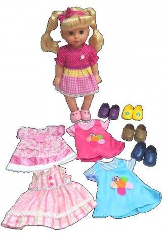Lalka Julka. Modne kreacja - zdjęcie zabawki, gry