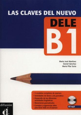 Las Claves Del Nuevo. Dele B1 - okładka podręcznika