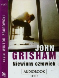 Niewinny człowiek (CD mp3) - pudełko audiobooku