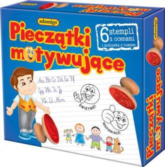Pieczątki motywujące - zdjęcie zabawki, gry