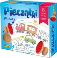 Pieczątki pojazdy - zdjęcie zabawki, gry