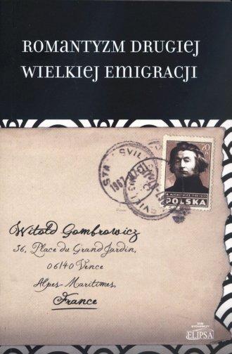 Romantyzm Drugiej Wielkiej Emigracji - okładka książki