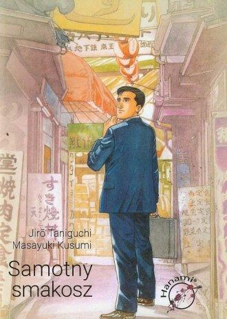 Samotny smakosz - okładka książki