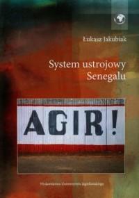 System ustrojowy Senegalu - okładka książki