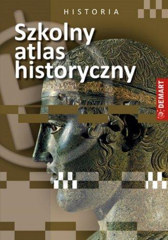 Szkolny atlas historyczny - okładka książki