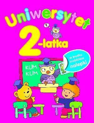 Uniwersytet 2-latka - okładka książki